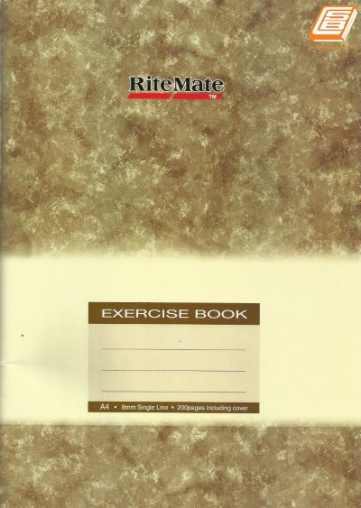 Muda - A4 RiteMate Exercise Book 200pages - (6203)