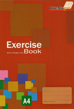 Muda - A4 RiteMate Exercise Book 120pages - (6124)