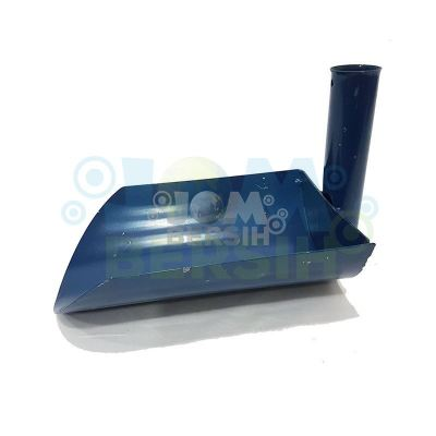 90�� Blue Heavy Duty Drain Scoop