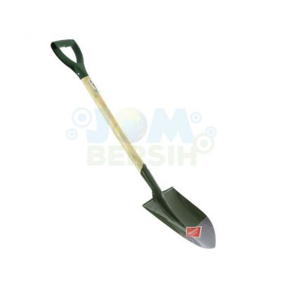 Steel Round Point Shovel 103cm