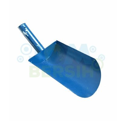 45�� Blue Heavy Duty Drain Scoop