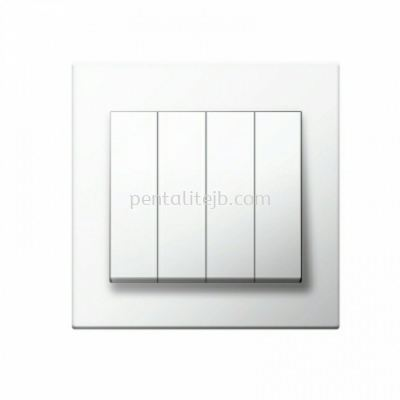CE8041B 4G 1W / CE8042B 4G 2W Flush Switch