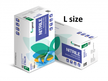 NITRILE POWDER FREE EXAMINATION GLOVES (B0201)