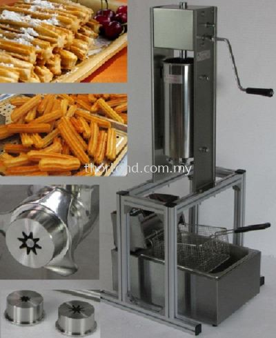 (A28) Churro Machine Maker 5L with Rack with Electric Deep Fryer