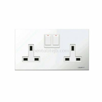 CE813TSB 13A 2G Flush Switch Socket