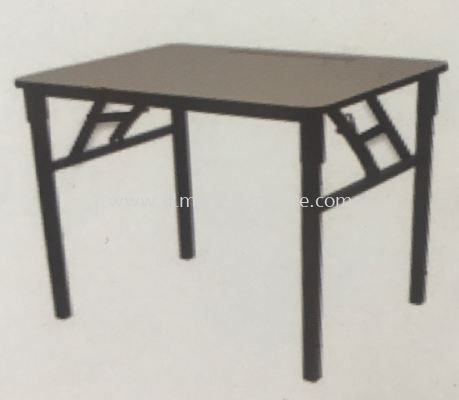 FT02 Folding Table With Melamine Top