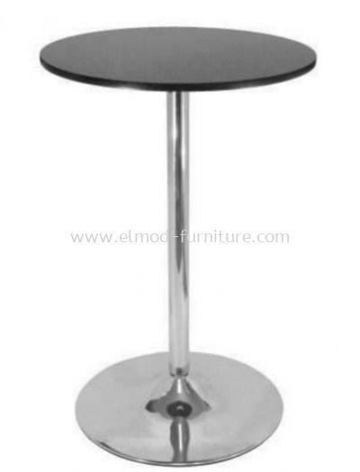 Chrome Tulip High Table