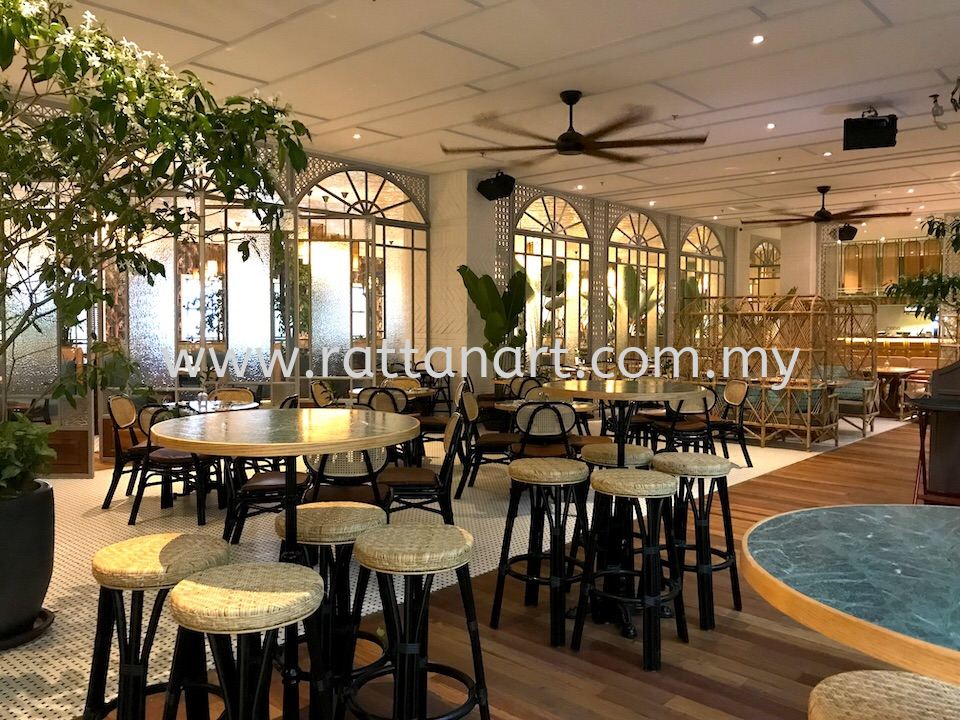 Supply To Bo All Day Dining @ The Linc KL by Rattan Art