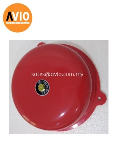 RFB10 Red Round Fire Bell 10'' 10inch