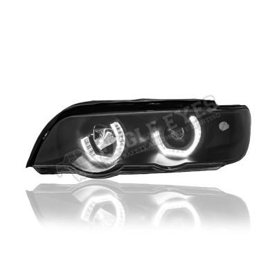 BMW X5 E53 Projector LED 3D Angle Eyes Head Lamp 00~03
