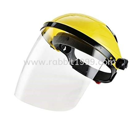 CLEAR VISOR WITH HEADGEAR                        INDUSTRY SAFETY PRODUCTS