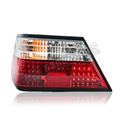 Mercedes Benz W124 LED Tail Lamp 85-93(RED/CLEAN)