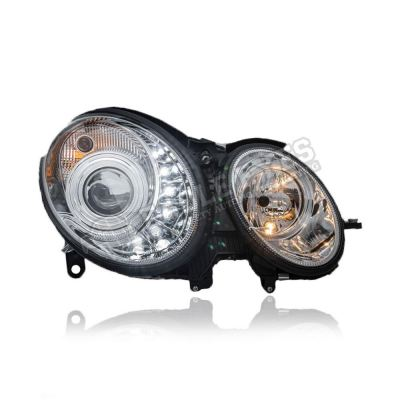 Mercedes Benz W211 Projector LED DRL Head Lamp 02~06