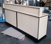 8'ft Oppa Cashier Counter with add Top