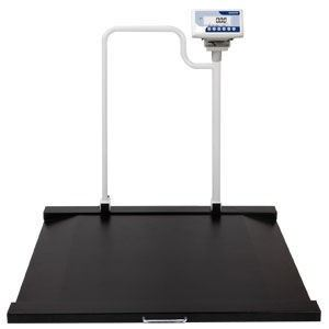NAGATA Wheelchair Scales with Handrail Model BM-5156M