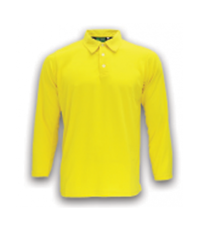 ATTOP COLLAR LONG SLEEVE ALS 600A YELLOW