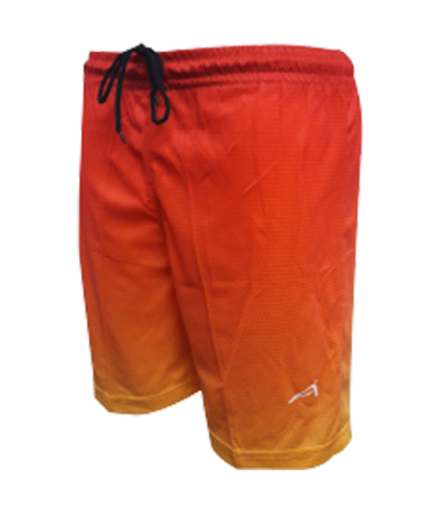 ATTOP SOCCER SHORTS ASS28 RED/YELLOW