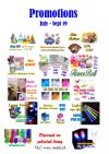 July - Spet 2019 Promotions Promotions