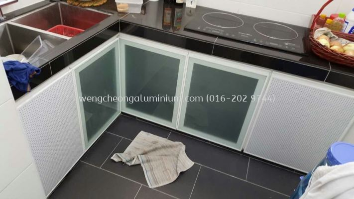 Cabinet Glass Door (Frosted Sticker)