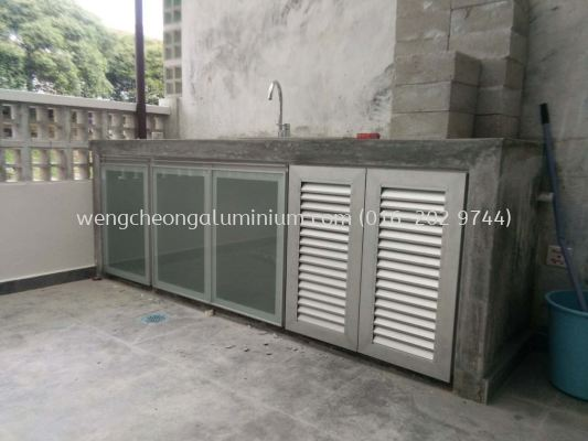Cabinet Door (Glass/Louvers)