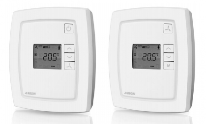 Room Controller - RCF-230D , RCF-230CD , RCFM-230D Fan-coil thermostat with on/off outputs