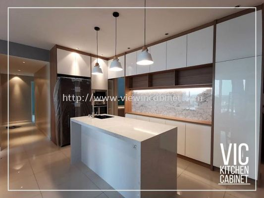 Kitchen In Uv Glossy