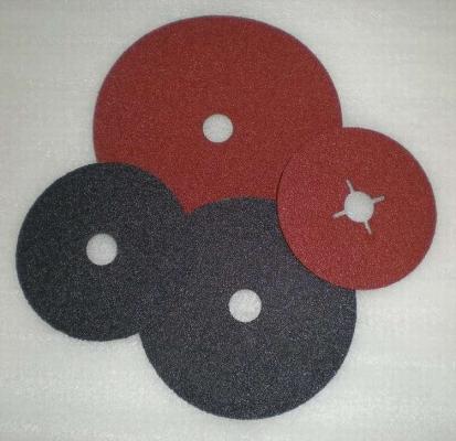 abrasive fibre disc