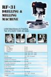 Drilling & Milling Machine Bench Drilling / Milling