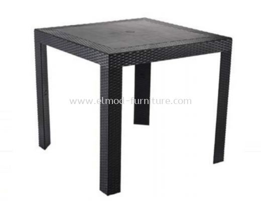 ODT111 Square PP Rattan Table