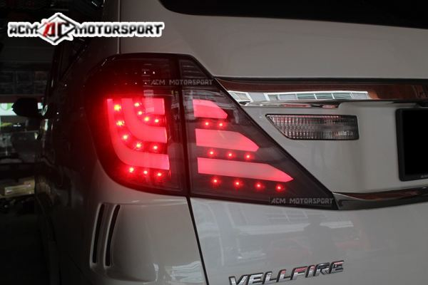 Toyota Vellfire Led Light Bar Sequential Signal Tail Lamp