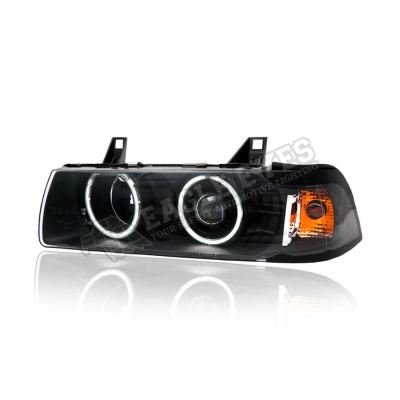 BMW E36 Projector Cool Look Head Lamp 92-99 (4-Door)