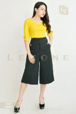 768402 WAIST DETAIL CULOTTES【ONLINE EXCLUSIVE 35%】
