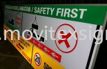 kedai signboard jb; building safety for emergency escape to the assembly area. Signboard / Lighting Signboard