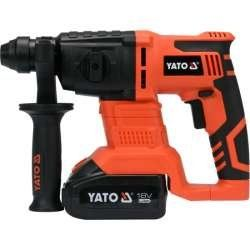 YT-82770 YATO ROTARY HAMMER 18V SDS PLUS 3,0AH IN BMC