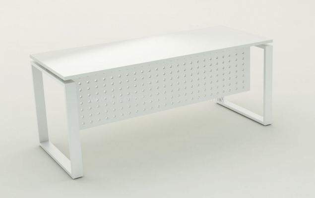 SQ-LEG RECTANGULAR TABLE - COLOR WHITE