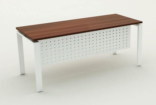 U-LEG RECTANGULAR TABLE - COLOR SW-INDIANA EBOXY