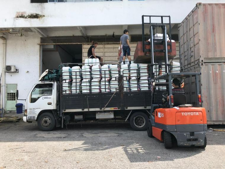 29.06.2019 Loading bundle to customer's lorry