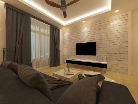 Living Room Design - Kuala Lumpur