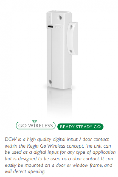 DCW -Wireless door contact