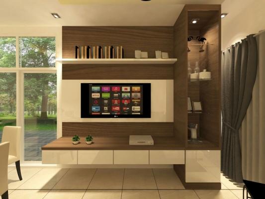 Living Hall Design - Selangor