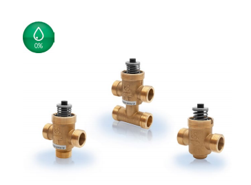 VTTV/VTTR/VTTB...2-way, 3-way and 3-way (bypass) zone valves DN15-20, kvs 0.25-6.0