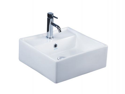 WB2050 Nitronium Basin Table Top or Wall Hung Wash Basin