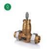 ETVS...2-way control valves, DN15-50, kvs 0.25-40, 20 mm stroke, DZR  Externally threaded valves Valve & Actuator Regin