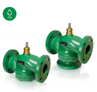 GF2/GF3...2- and 3-way control valves, DN25-200, kvs 6.3-550, DIN-standard