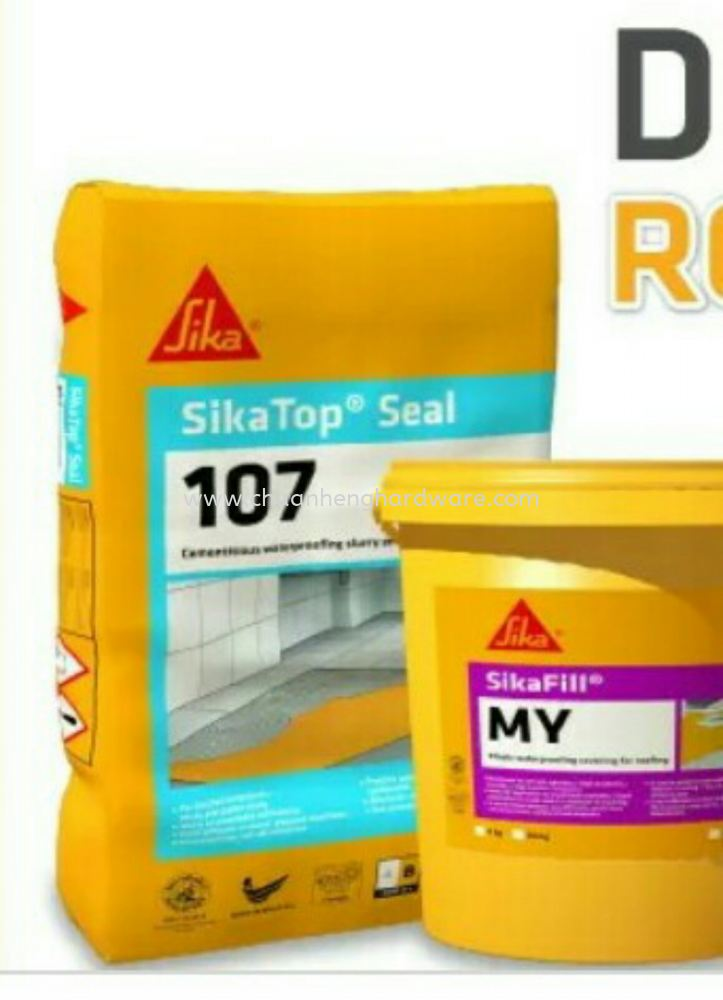 Sika waterproofing for bathroom
