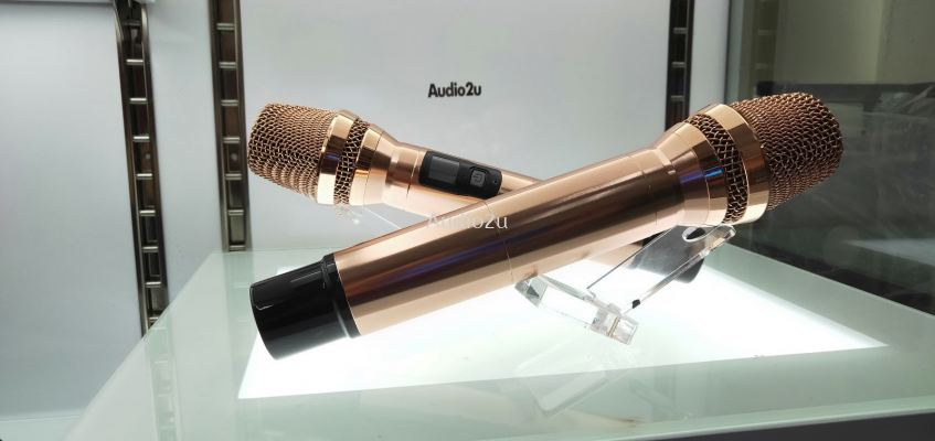 Audio2u Rose Gold Limited Edition