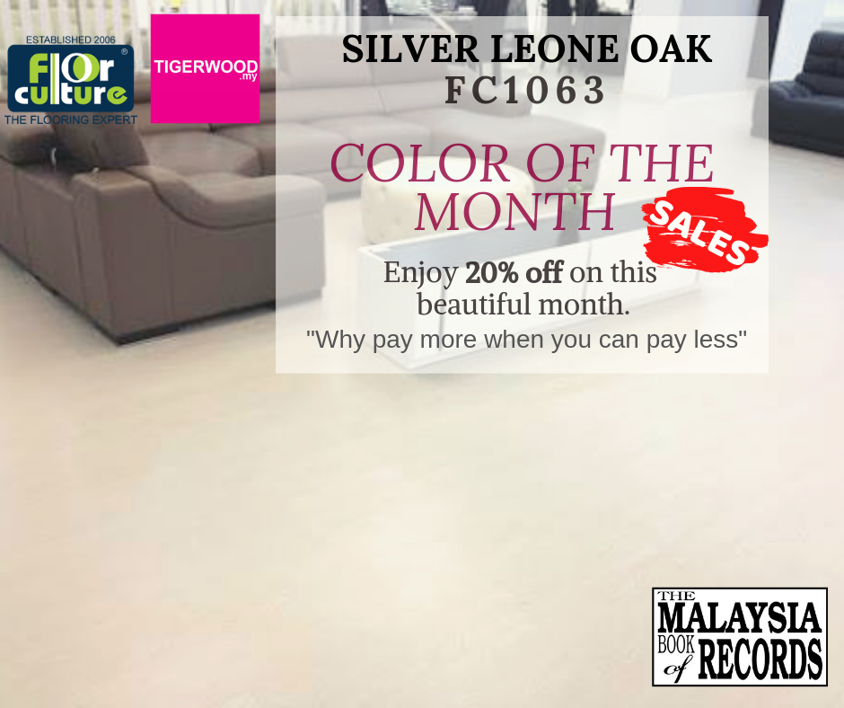 [JULY 2019] Color of The Month -FC 1063 Silver Leone Oak