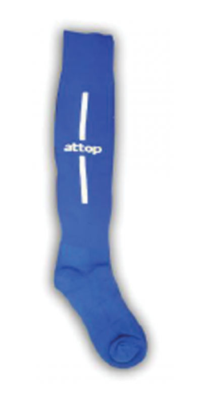 ATTOP SOCCER SOCKS AS09 ROYAL/WHITE