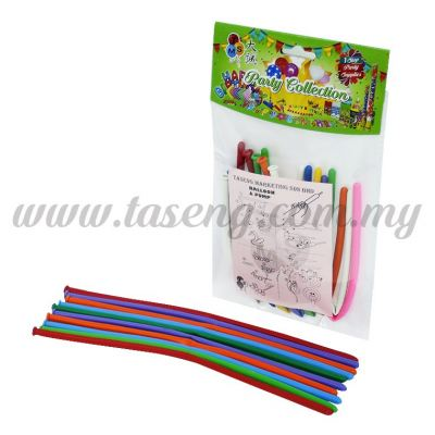 Twist Balloon 10pcs (B-SI10)