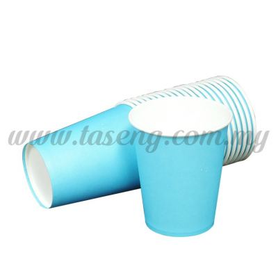 Paper Cup Plain Baby Blue 20pcs (P-PC-PBB)